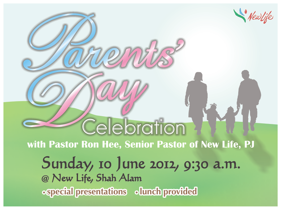 June 10th: Parents' Day Celebration