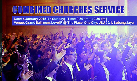 Combined Churches Service 2015